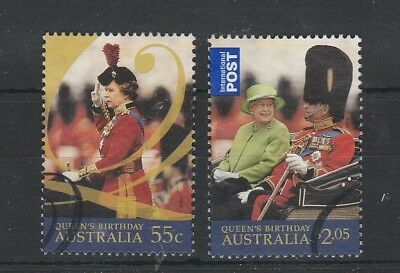 2009 Queen's Birthday Used Set.