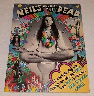 Young Ones Neil Book Of The Dead 1984 Paperback Book Mint- Oop Rare Heavy Metal
