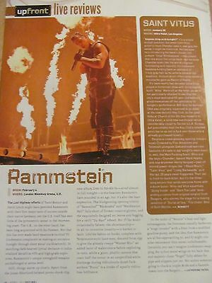Rammstein, Full Page Clipping