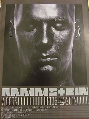 Rammstein, Videos, Full Page Promotional Ad