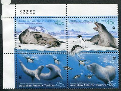 AUSTRALIAN ANTARCTIC L118  Beautiful Mint Never Hinged Block UPTOWN 31384