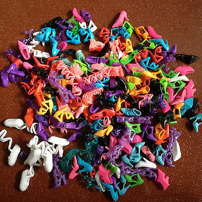 40 Pairs Fashion Shoes For Barbie Doll / Barby Girl