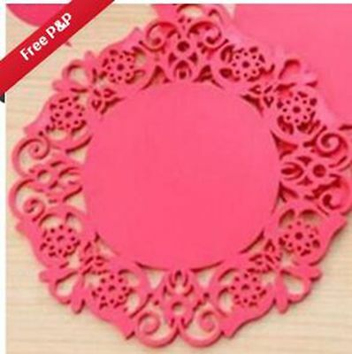 small Silicone Heat Insulation Coasters Mat Resistant Pad Non-Slip Cup Pl1666666