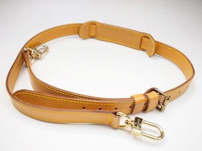 Authentic Louis Vuitton Shoulder Strap For Keepall Bandouliere Luggage Duffle
