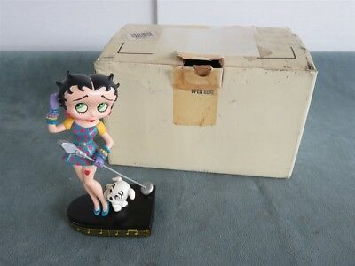"Betty Boop Figurine ""BETTY SINGS THE BLUES"" by Danbury Mint"