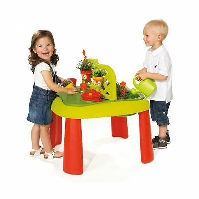 Smoby Kids Children Gardening Play Table New