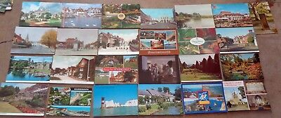 JOB LOT VINTAGE POSTCARD: HAMPSHIRE & ISLE OF WIGHT PORTSMOUTH SOUTHAMPTON etc