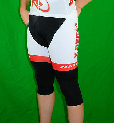 Corsaire X-PERIA Team : Cuissard 3/4 a bretelles Taille XL Size New Bibknickers