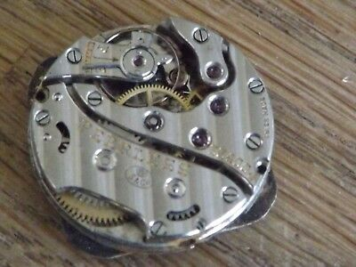 Vintage  Peerless Wristwatch Movement Working