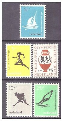 Netherlands 1956 16th Olympic Games, Melbourne set MM/MH SG831-835