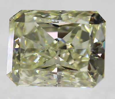 Certified 2.01 Carat J VS1 Radiant Enhanced Natural Diamond 7.92x6.32mm EX EX