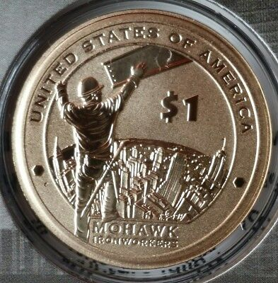 2015 $1 Mohawk Ironworkers Coin & Currency Set