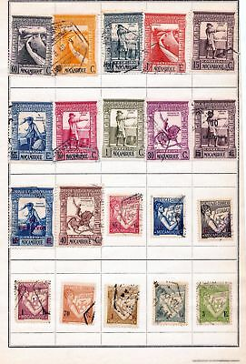 Portugal Mozambique Macua Azores OLD Mint &Used Lot ( 130+Stamps) DAB03