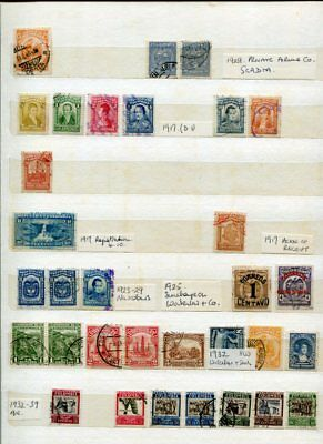 COLOMBIA Used COLLECTION 900 Stamps