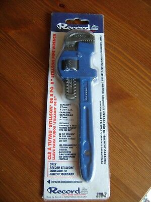 "Record  8"" Stillson Pipe Wrench 300/8"