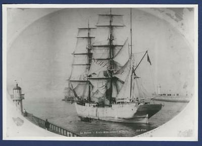 Sailing Ship French Barque Charles Granville Le Havre Sail
