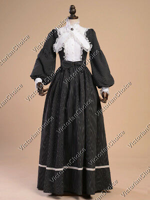 Victorian Old West Dress Theater Ghost Witch Women Halloween Costume N 191 L
