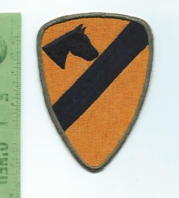 US Army 1st Cavalry Division  Patch     reverse head profile variation