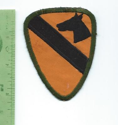 US Army 1st Cavalry Division   patch  theater made  small size
