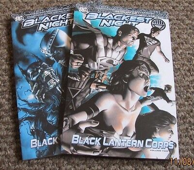 Blackest Night   Black Lantern Corps  Vol 1 & 2