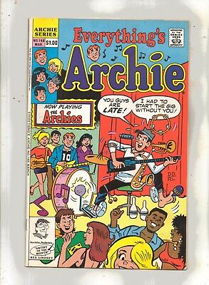 EVERYTHING'S ARCHIE No 148 with BETTY, VERONICA, REGGIE and JUGHEAD