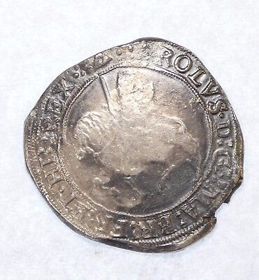 1625-49 Great Britain King Charles I Silver Half Crown FINE/VERY FINE