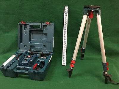 Bosch GRL 240 HVCK Self Leveling Rotary Laser Complete Kit