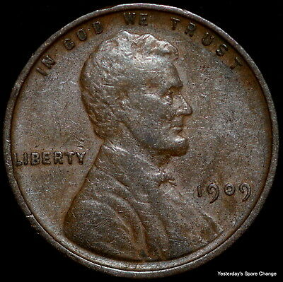 1909-P Lincoln Wheat Cent!!