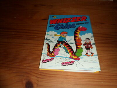 Whizzer And Chips-1987-Colour Print-Vintage-Comic Hardback Annual-British-UK