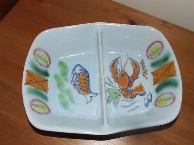 Buchan Stoneware Pottery Riviera Divided Ovenproof Serving/Baking Dish