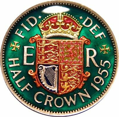 WCA Enamelled Half Crown 1953 Great Britain
