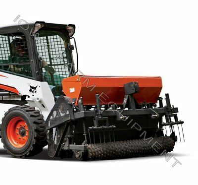 Skidsteer Food Plot,Landscape,Lawn,Pasture,Turf Seeder,Planter:Grasses,Legumes..