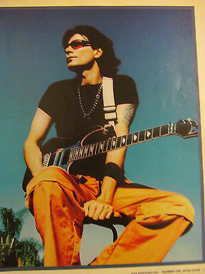 Steve Vai, Full Page Pinup