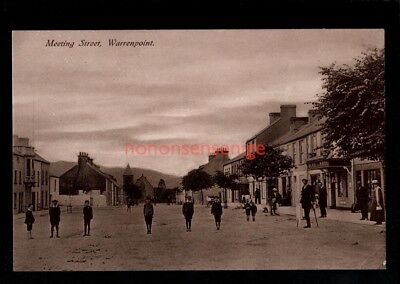 Warrenpoint Meeting Point Real Photo Postcard E20C  - 97