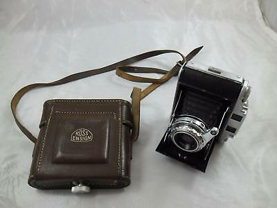 Ross Ensign Autorange 16-20 folding camera with 75mm XPRES f3.5 lens (41340) and