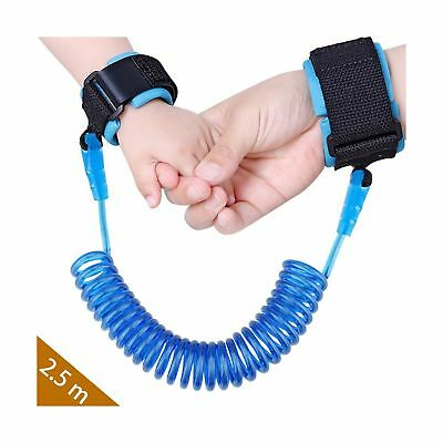 Baby Child Anti Lost Safety Wrist Link Harness Strap Rope Backpack Leash Walk...