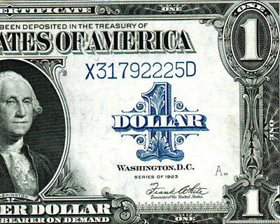 1923 $1  Silver Certificate  ** MORE CURRENCY FOR SALE**