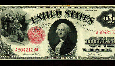 $1 1917  United States Note - Legal Tender **MORE CURRENCY 4 SALE**
