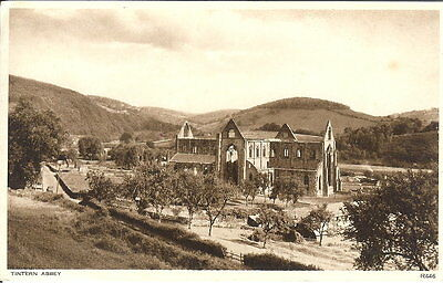 Wales: Tintern Abbey - Posted 1946