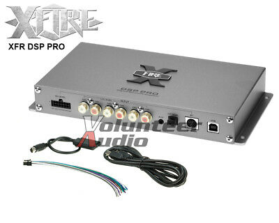 XFIRE DSP PRO 6 Channel Input or 8 Channel RCA Input Digital Sound Processor