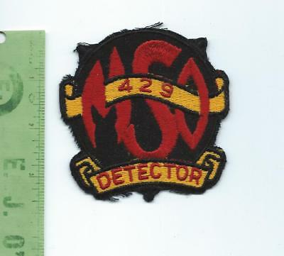 US Navy USN USS Detector  MSO 429 patch  Minesweeper