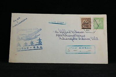 Macao: 1937 04/28 First Flight Cover to San Francisco
