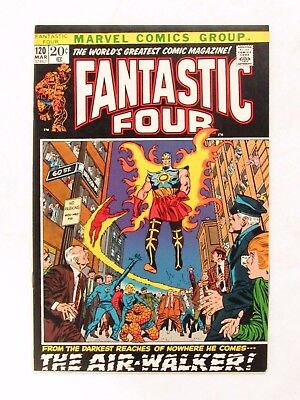 Fantastic Four #120 (1972) Bronze Age VF+ to VF/NM 8.5-9.0 Marvel Comics CC196