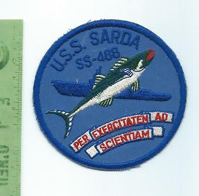 US Navy USN USS Sarda SS 488 Submarine  patch