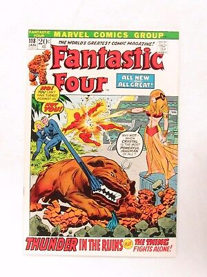 Fantastic Four #118 (1972) Bronze Age VF/NM 9.0 Marvel Comics CC198