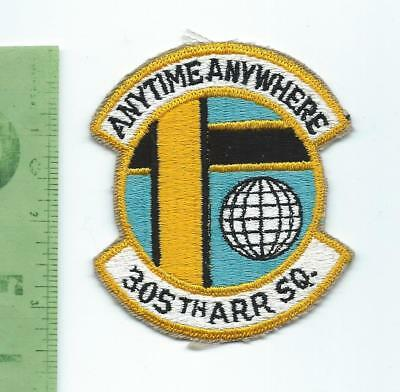 US Air Force USAF  305th ARR Air Rescue  Squadron   patch