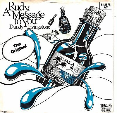 "7""-  Dandy Livingstone  = Rudy,a Message To You  / Tribute To The Prince"
