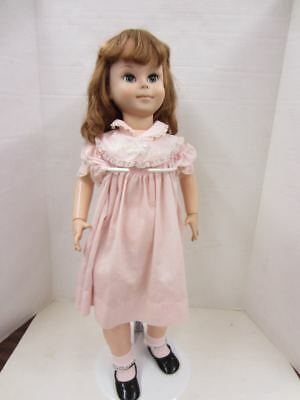 "Vintage 1961 American Character Jointed 29"" BETSY MCCALL Doll w/Pink Dress/Socks"