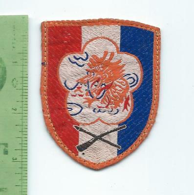 Republic of China Taiwan 51st Infantry Division   patch