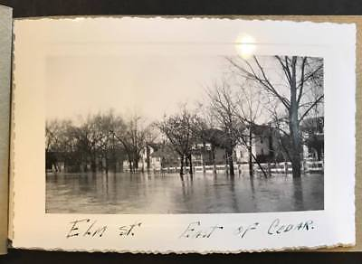 1947 Lansing, Michigan Flood Snapshot Booklet with Identified Locations,Lot 1